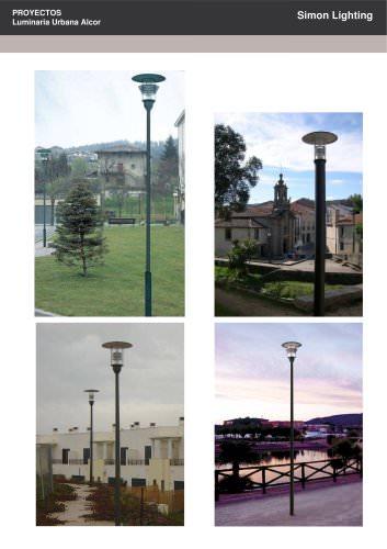 PROYECTOS Luminaria Urbana Alcor