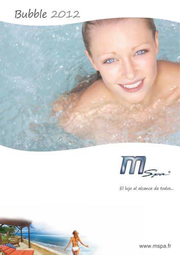 Catalogo 2012 Spa Hinchable MSpa
