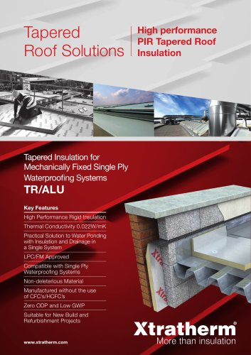 Thin-R Tapered Roof [TR/ALU]