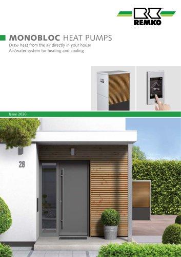 Monobloc heatpump