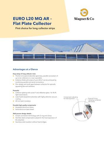 EURO L20 MQ AR – Flat Plate Collector