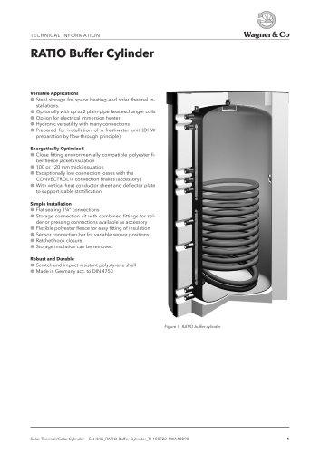 RATIO Buffer Cylinder