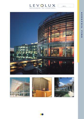 Levolux Aerofoil Fins Brochure