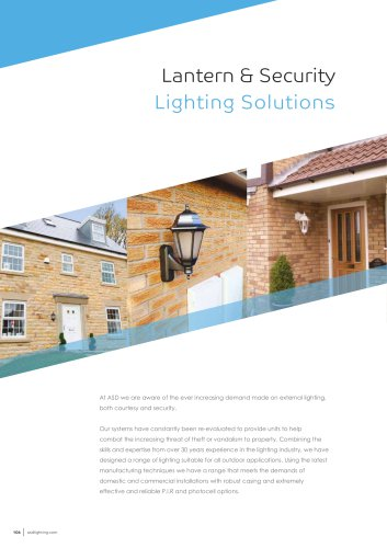 Lantern & Security Lighting Solutions