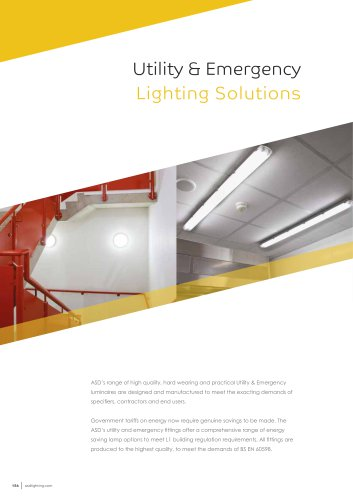 Utility & Emergency Lighting Solutions