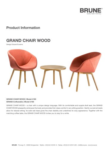 GRAND CHAIR WOOD