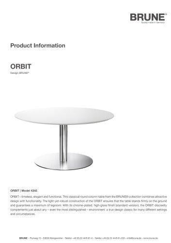 ORBIT Model 4345