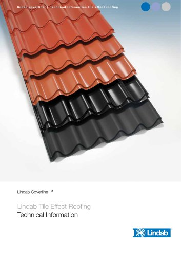Lindab Tile Effect Roofing