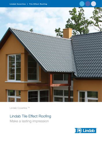 Tile effect roofing