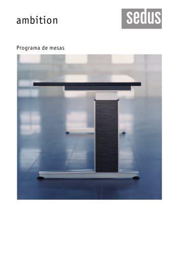 ambition Programa de mesas