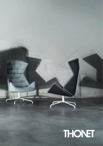 THONET 808 Lounge chair