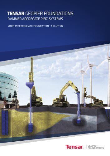 Tensar Geopier Foundations Brochure