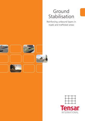 Tensar Ground Stabilisation Brochure