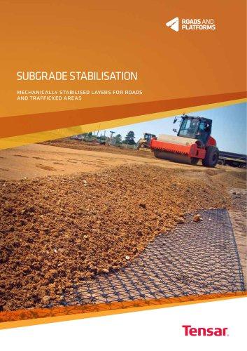 Tensar Sub ballast Stabilisation