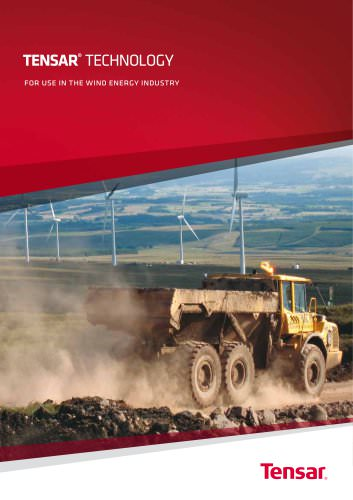 Tensar Wind Energy Brochure