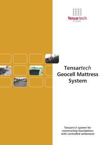 Tensartech Geocell Mattress System Brochure