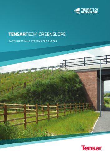 Tensartech GreenSlope System Brochure
