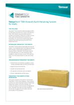 TensarTech TW3 Smooth Earth Retaining System for Walls
