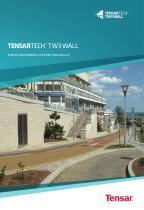 Tensartech TW3 Wall System Brochure