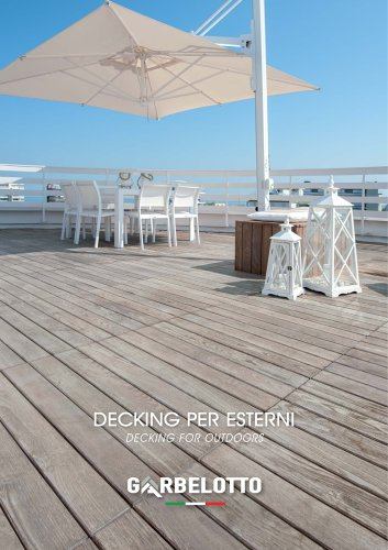 Decking for outdoors