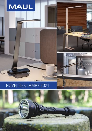 NOVELTIES LAMPS 2021