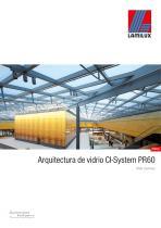 Arquitectura de vidrio CI-System PR60