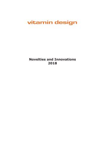 Novelties and Innovations 2018