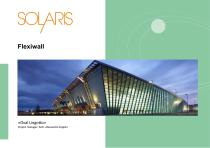 Flexiwall Textile movable waal parttition