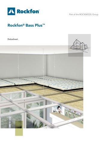 Rockfon® Bass Plus™