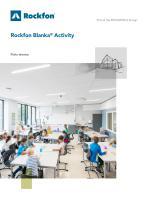 Rockfon Blanka® Activity