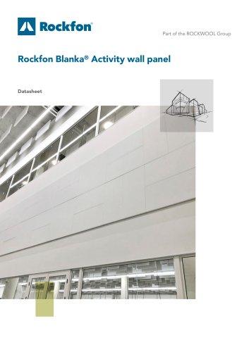 Rockfon Blanka® Activity wall panel