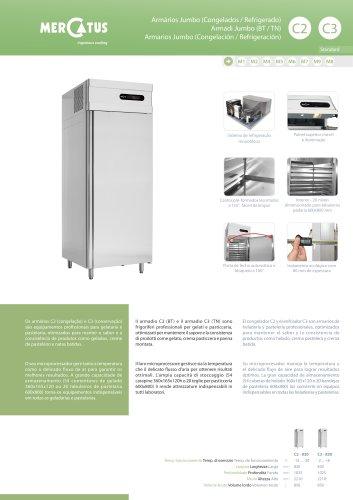 C2/C3 Armarios Jumbo (Congelación / Refrigeración)
