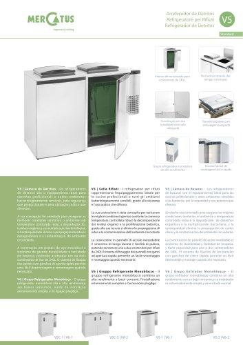 V5 Refrigerador de Detritos
