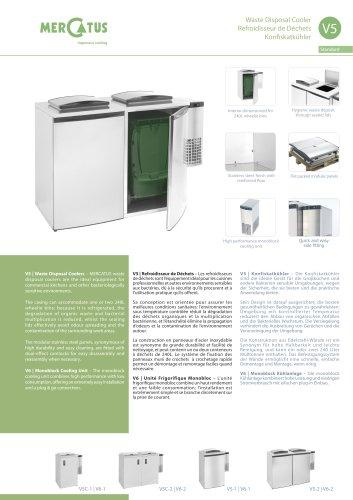 Waste Disposal Cooler