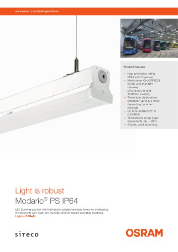 Modario® PS IP64 (multilumen)