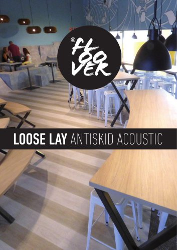 FLOOVER Loose lay antiskid acoustic