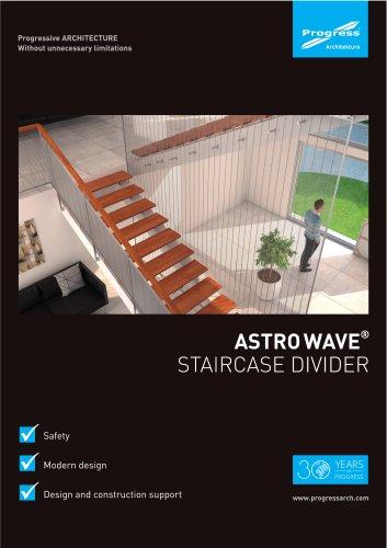 Staircase divder ASTRO WAVE