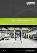 SPORTEC® Sports flooring and elastic layers for fitness centers and weight-lifting areas