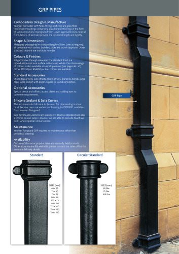 GRP Pipes & Accessories