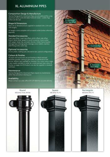 XL Aluminium Gutters & Pipes