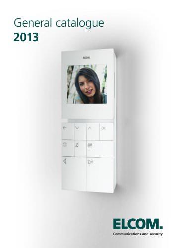 General Catalogue 2013