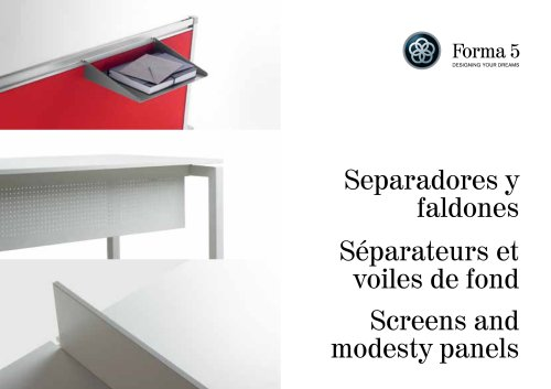 Screens and modesty panels