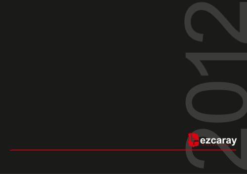 Catálogo Ezcaray Seating 2012