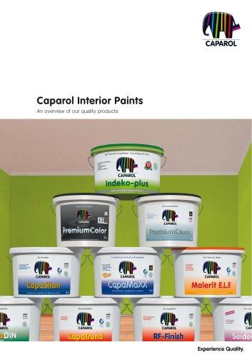 Brochure Caparol Interior Paints