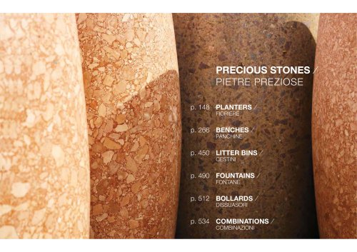PRECIOUS STONES / PLANTERS