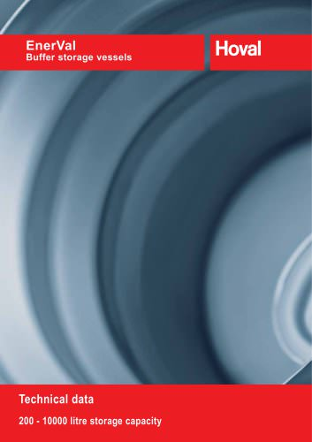 EnerVal (200-10000) Thermal Storage Vessels