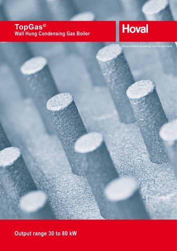 TopGas® Wall Hung Condensing Gas Boiler