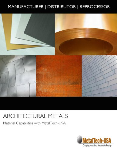 ARCHITECTURAL METALS