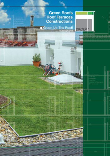 Green Roofs - Roof Terraces - Constructions