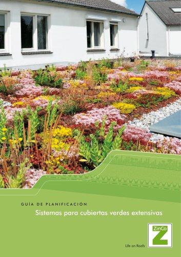 Sistemas para cubiertas verdes extensivas